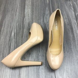 Nine West Beige Heels Size 9